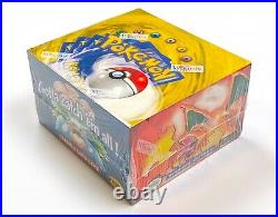 1999 Pokemon Base set Green Wing Booster Box (36 Factory Sealed packs, NM)