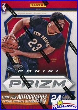 2015/16 Panini Prizm Basketball Factory Sealed Blaster Box-ORANGE WAVE PRIZMS