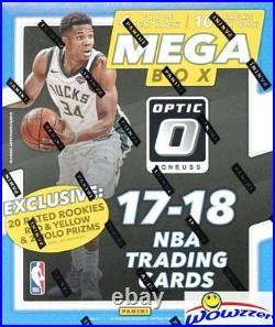 2017/18 Panini Donruss OPTIC Basketball HUGE EXCLUSIVE Factory Sealed MEGA Box
