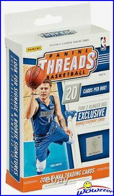 2018/19 Panini Threads Basketball Factory Sealed Hanger Box-2 ROOKIE STATEMENTS