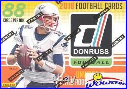 2018 Donruss Football EXCLUSIVE Factory Sealed Blaster Box-MEMORABILIA+11 ROOKIE