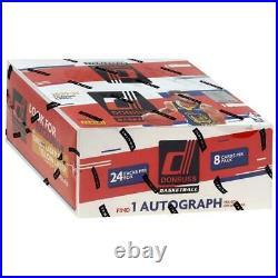 2020-21 Panini Donruss Basketball Retail Box FACTORY SEALED 1 AUTO ON AVG