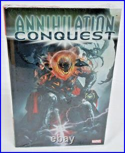Annihilation Conquest Groot Drax Omnibus Marvel Brand New Factory Sealed