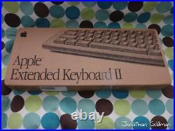 Apple Extended Keyboard II ADB New Factory Box Vintage Rare M0312 M3501 SEALED