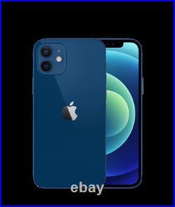 Apple iPhone 12 128GB (UNLOCKED) Factory Warranty BLUE NEW SEALED