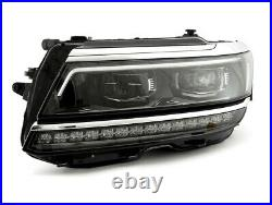 BRAND NEW HEADLIGHTS VW TIGUAN 2018-2021 OEM COMPLETE SET WithMODULES AND BALLASTS