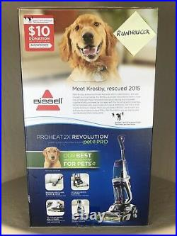 Bissell ProHeat 2X Revolution Pet Pro Carpet Cleaner 1986 NEW IN BOX