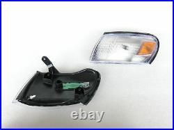 FRONT LED HEADLIGHT LAMP Amber Light FOR TOYOTA COROLLA AE100 E100 WAGON 93-97