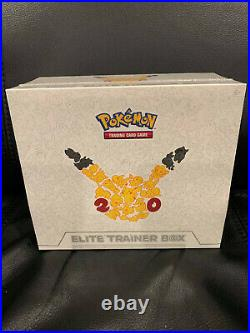 Factory Sealed Generations 20th Anniversary Elite Trainer Pokemon Box Ex Pikachu