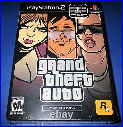 Grand Theft AutoThe Trilogy PS2 New! Factory Sealed! Free Shipping