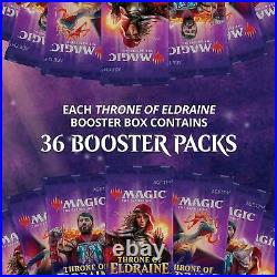 MTG Throne of Eldraine Booster Box Brand New and Factory Sealed