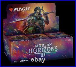 Modern Horizons 2 Draft Booster Box MTG Magic the Gathering New SEALED
