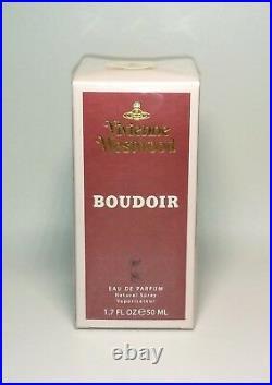 NEW Vivienne Westwood BOUDOIR Eau de Parfum SEAL (1.7oz) Natural Spray Perfume