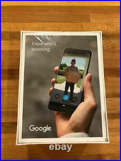 Nest Google Hello Smart Wi-Fi Video Doorbell NC5100US WIRED FACTORY SEALED