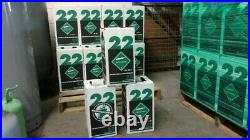 New R-22 Virgin Refrigerant FACTORY SEALED 10 LB. FAST SAME DAY Shipping by 3pm