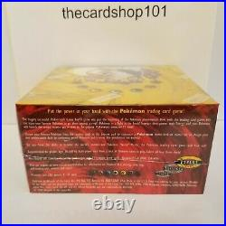 Pokemon Base Set Booster Box Factory sealed! CHARIZARD Vintage