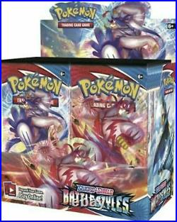 Pokemon Battle Styles Booster Box Factory Sealed 36 Packs Of 10 Cards