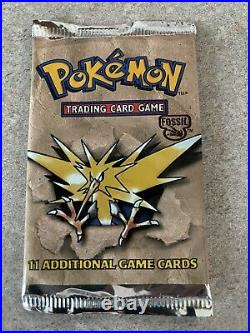 Pokemon Fossil Booster Packs From Opened Factory Sealed Box Receive 1 Pack