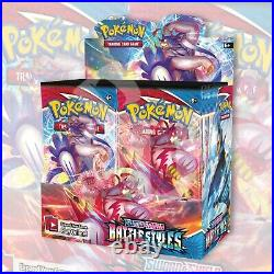 Pokemon TCG BATTLE STYLES Booster Box FACTORY SEALED 36 Packs