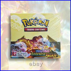 Pokemon TCG DARKNESS ABLAZE Booster Box FACTORY SEALED 36 Packs