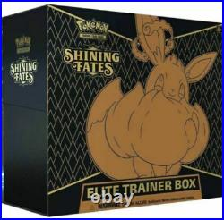Pokemon TCG Shining Fates Elite Trainer Box ETB Factory Sealed Case 10 Boxes
