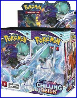 Pokemon TCG Sword & Shield Chilling Reign Booster Box Factory Sealed