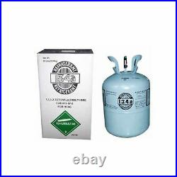 R134a, R134A refrigerant 30LB CYLINDER LOWEST PRICE ON EBAY NEW FACTORY SEALED