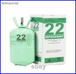 R22 R-22 R 22 Refrigerant 10lb Cylinder, Factory Sealed R22 Same Day Shipping