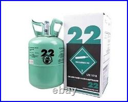 R22 Virgin Refrigerant FACTORY SEALED 5 LB. FREE SAME DAY Shipping by 3pm