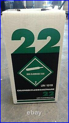 R22 refrigerant 10 lb. Factory sealed VIRGIN FREE SAME DAY SHIPPING BY 3 PM