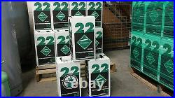 R22 refrigerant 15 lb. New factory sealed made in USA FREE SAME DAY SHIPPING