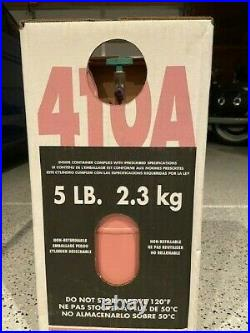 R410A 5 lb. New factory sealed. FREE SAME DAY SHIPPING BY 3 pm mst