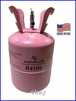 R410a, R-410a R 410a Refrigerant 11lb tank. New Factory Sealed