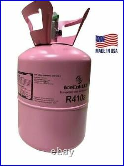 R410a, R410a Refrigerant 11lb tank. New Factory Sealed (Made in USA)