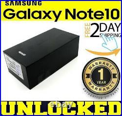 SAMSUNG GALAXY NOTE 10 N970U1 (FACTORY UNLOCKED) 256GB1TB GSM+CDMA SEALED(w)
