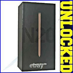 SAMSUNG NOTE 20 ULTRA 5G N986U1 128GB Mystic Bronze (FACTORY UNLOCKED) SEALED