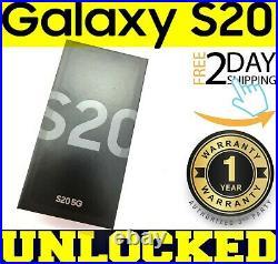 Samsung Galaxy S20 5G SM-G981U1 128GB Cosmic Gray (FACTORY UNLOCKED) SEALEDw