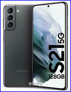 Samsung Galaxy S21 5g Sm-g991u1 128gb Phantom Gray (factory Unlocked) Sealed