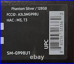Samsung Galaxy S21 Ultra 5G SM-G998U 128GB Phntom Silver FACTORY Unlocked SEALED