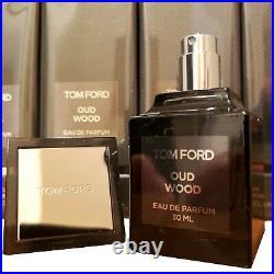 Tom Ford Oud Wood 30ml 1oz Men Authentic Spray Factory Sealed Eau De Parfum New