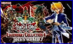 Yugioh Legendary Collection 4 Joeys World Brand New Factory Sealed Box