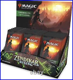 Zendikar Rising 30 ct. Set Booster Box ZNR NEW FACTORY SEALED